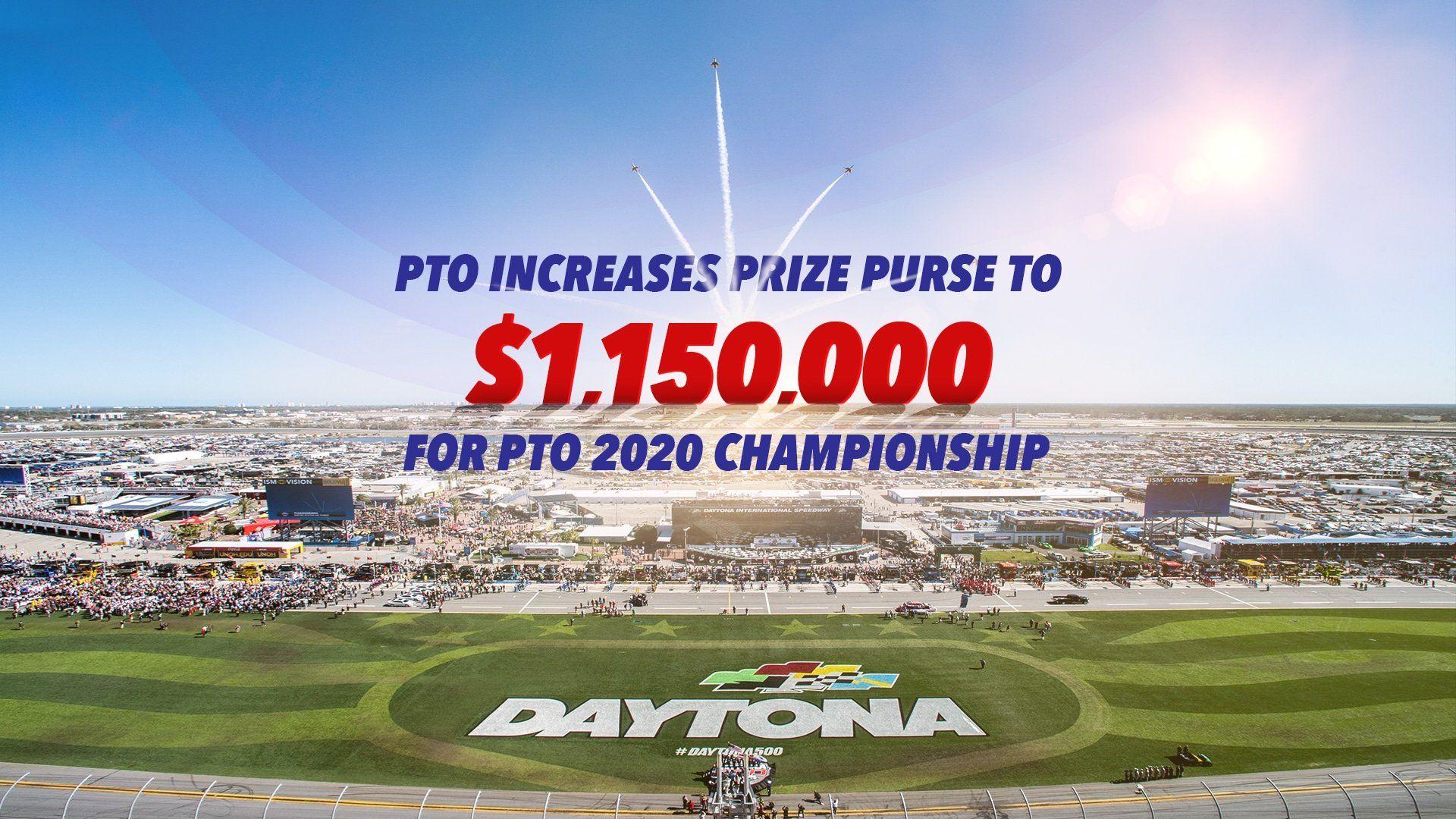 PTO 2020 Championship announce increase in prize purse