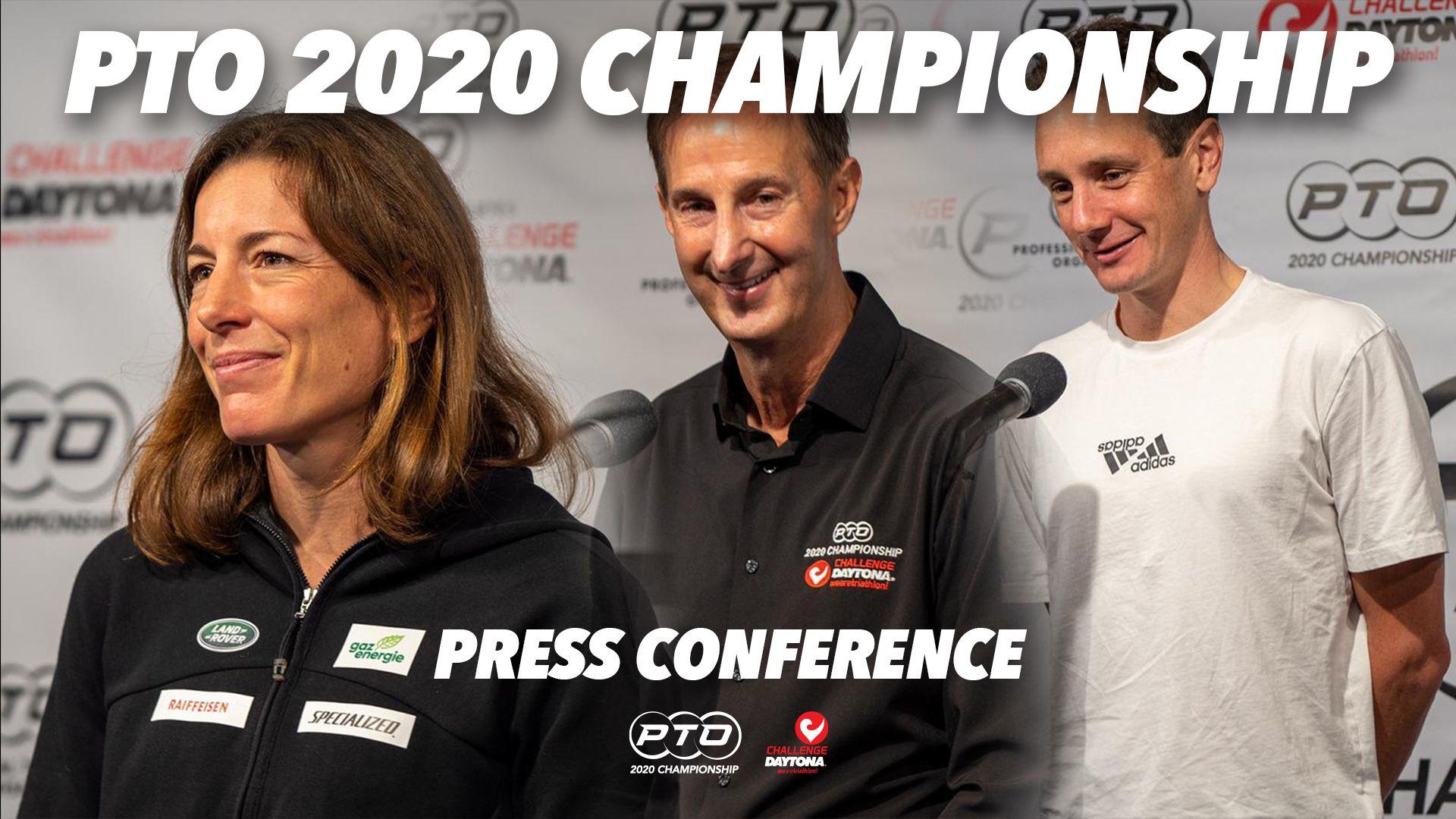 PTO 2020 Championship Press Conference