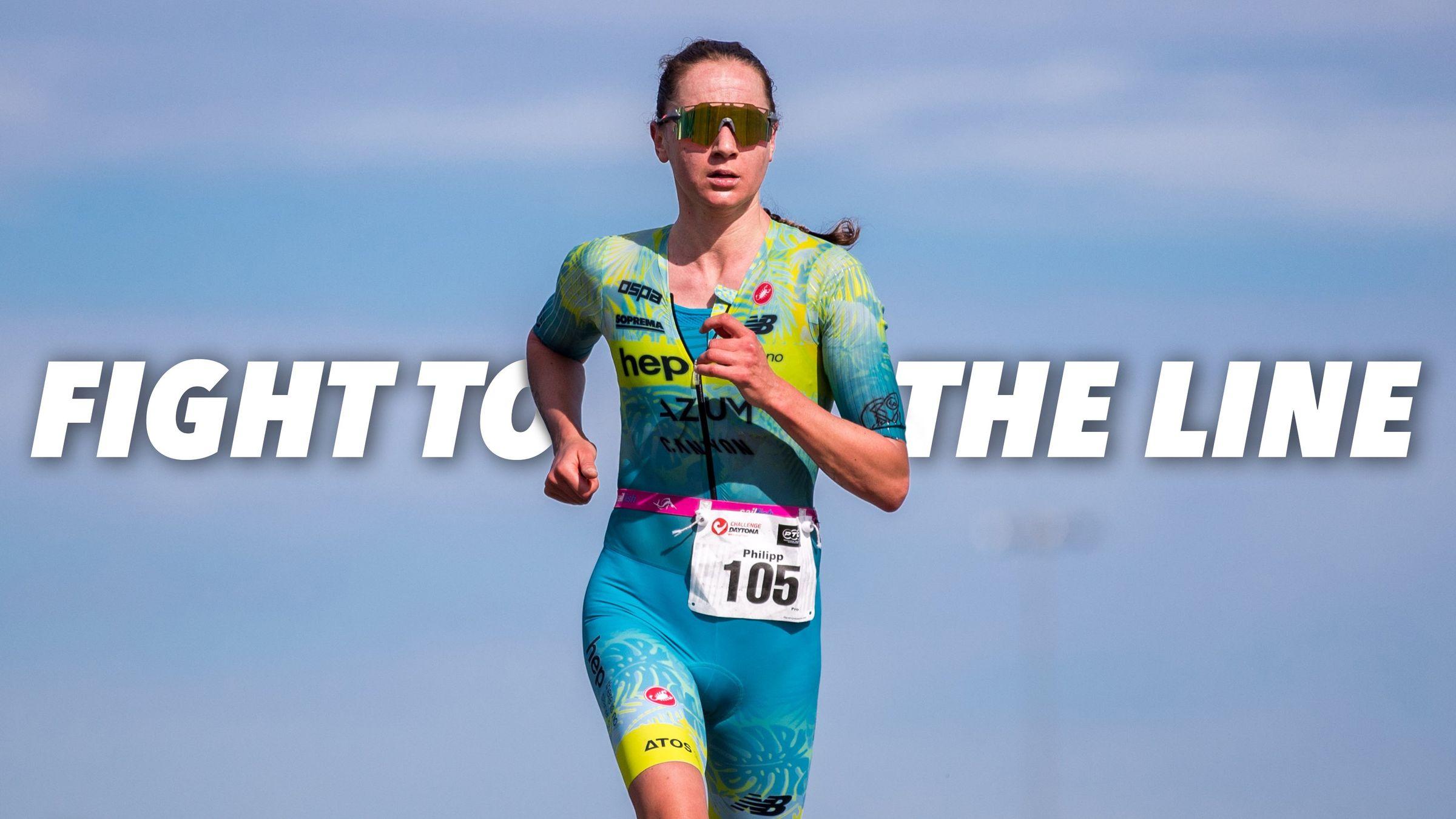 Ignoring the pain: Laura Philipp fights off cramp to claim third in Daytona