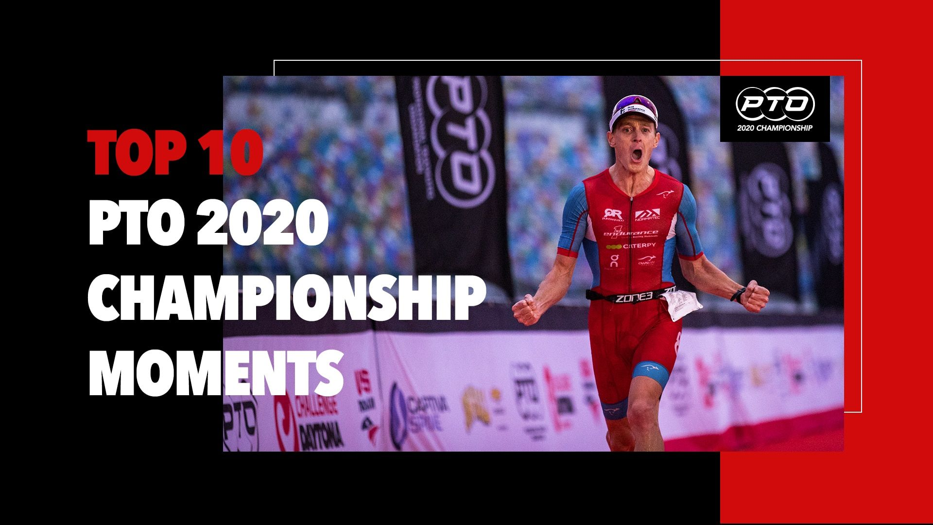 Top 10 Triathlon Moments: PTO 2020 Championship at CHALLENGEDAYTONA