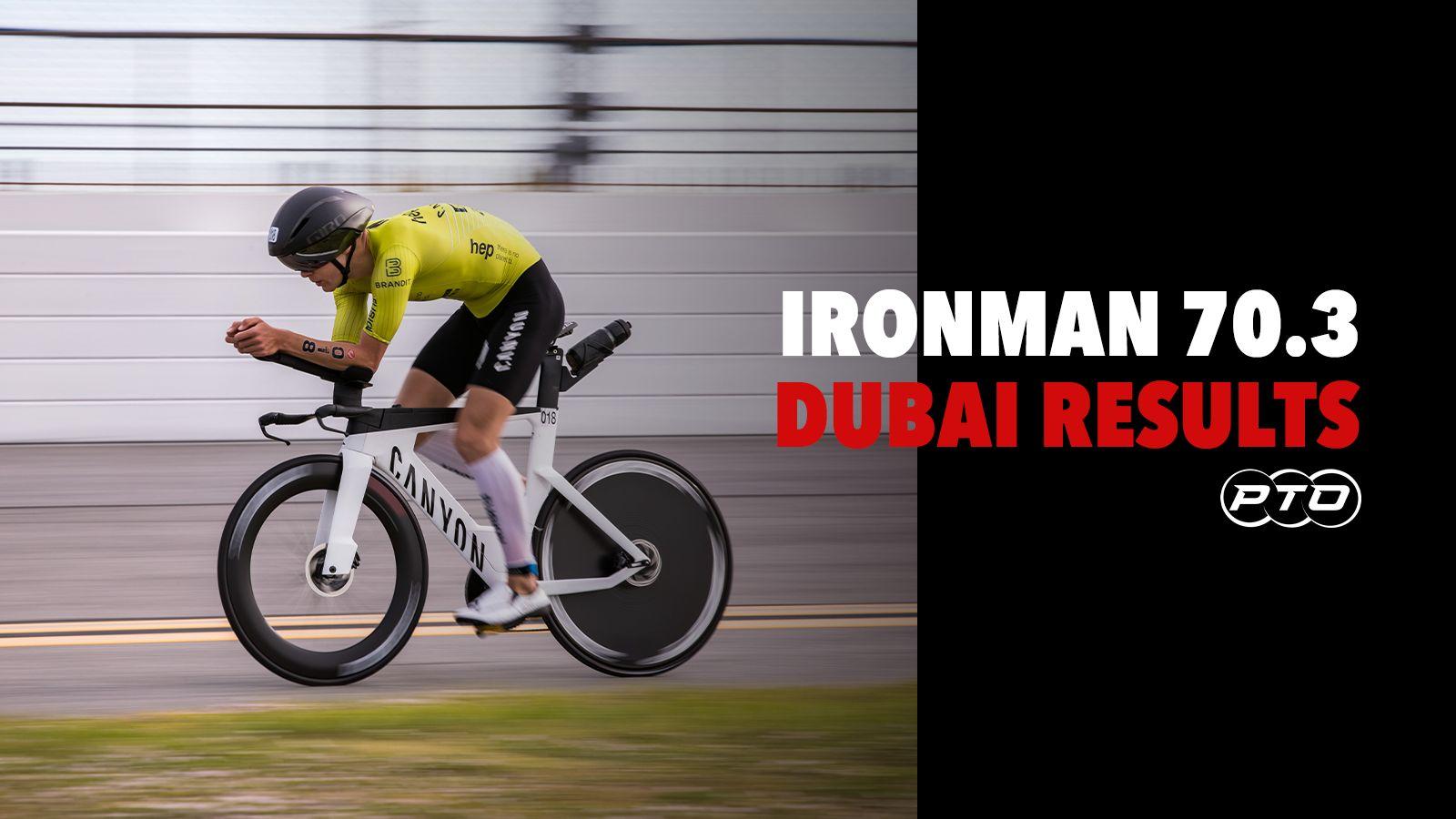 Ironman 70.3 Dubai: Results