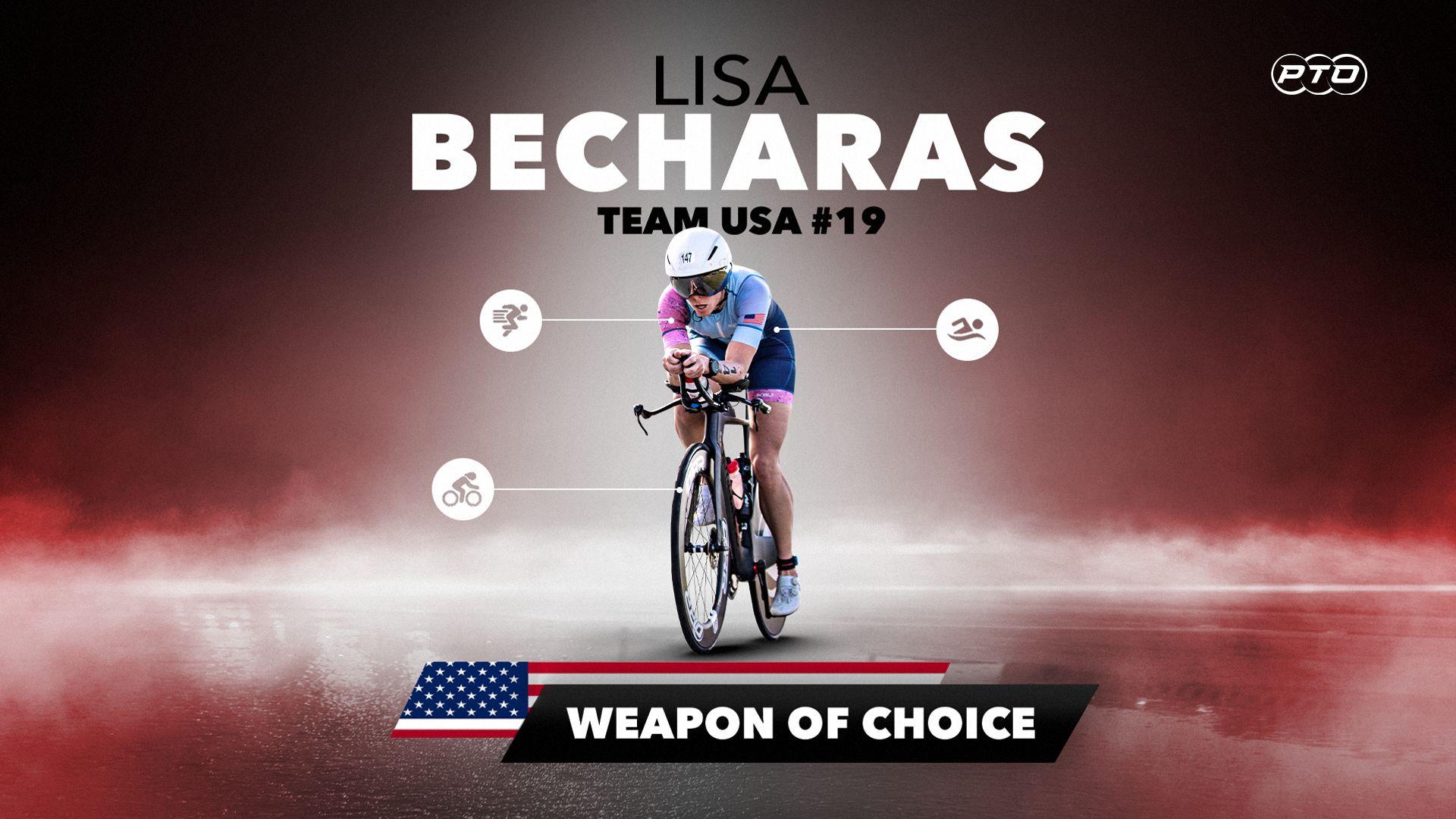 Weapon of Choice || Lisa Becharas