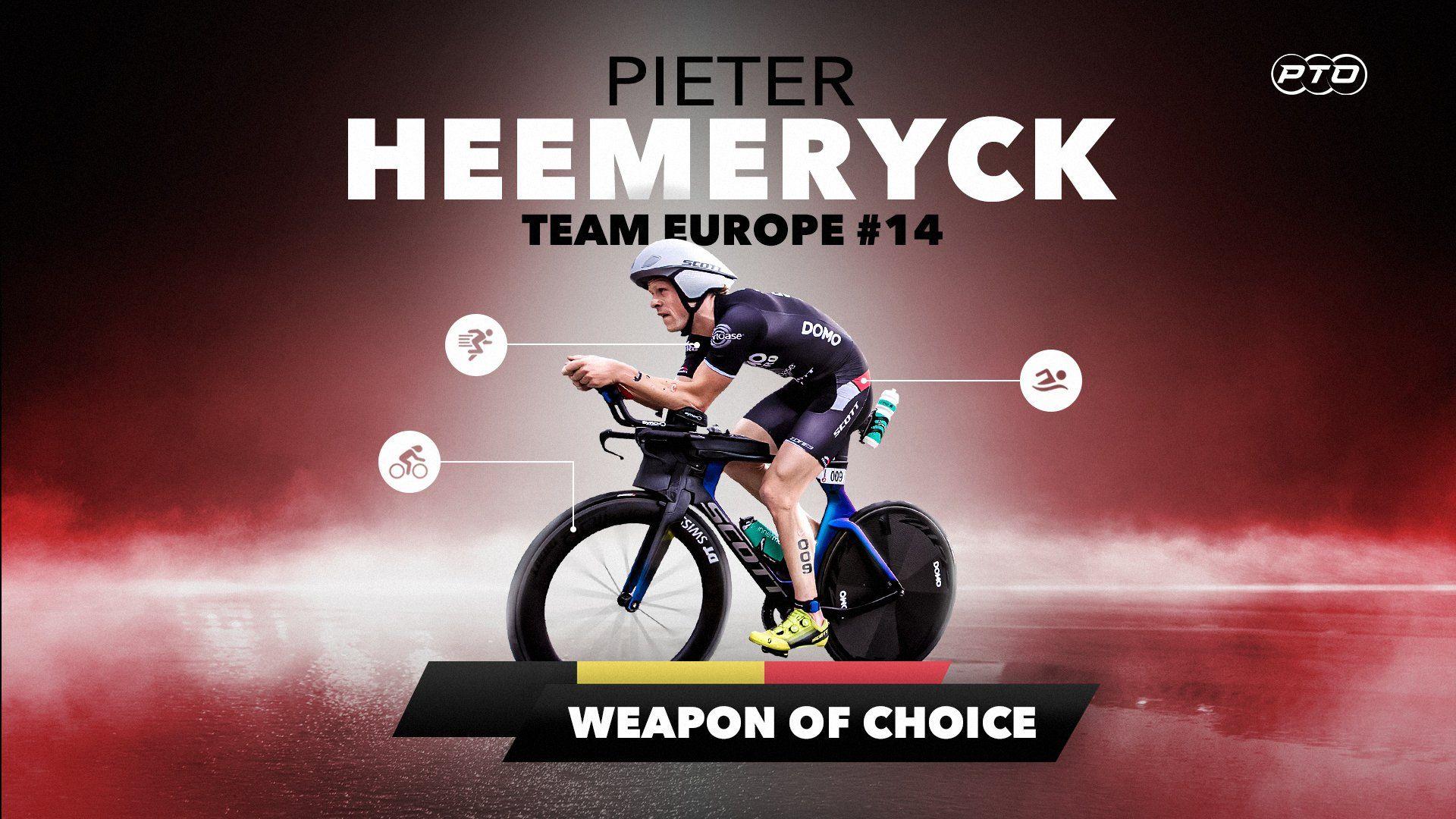 Weapon of Choice || Pieter Heemeryck