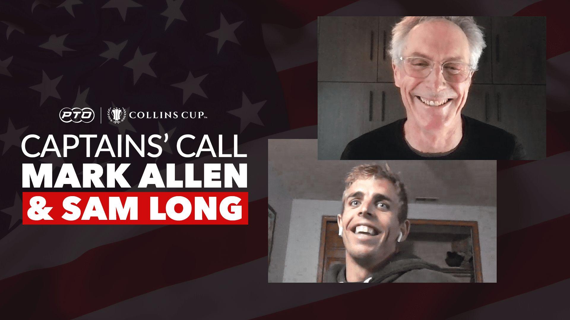 Captains' Call: Team USA - Mark Allen & Sam Long | Collins Cup