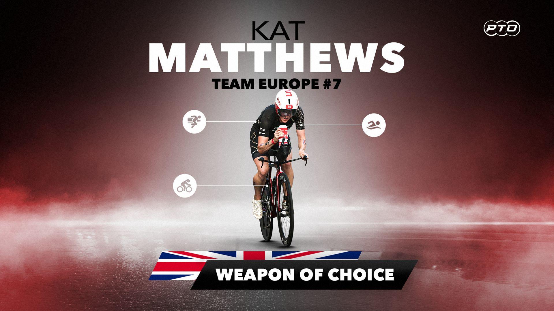 Weapon of Choice || Katrina Matthews