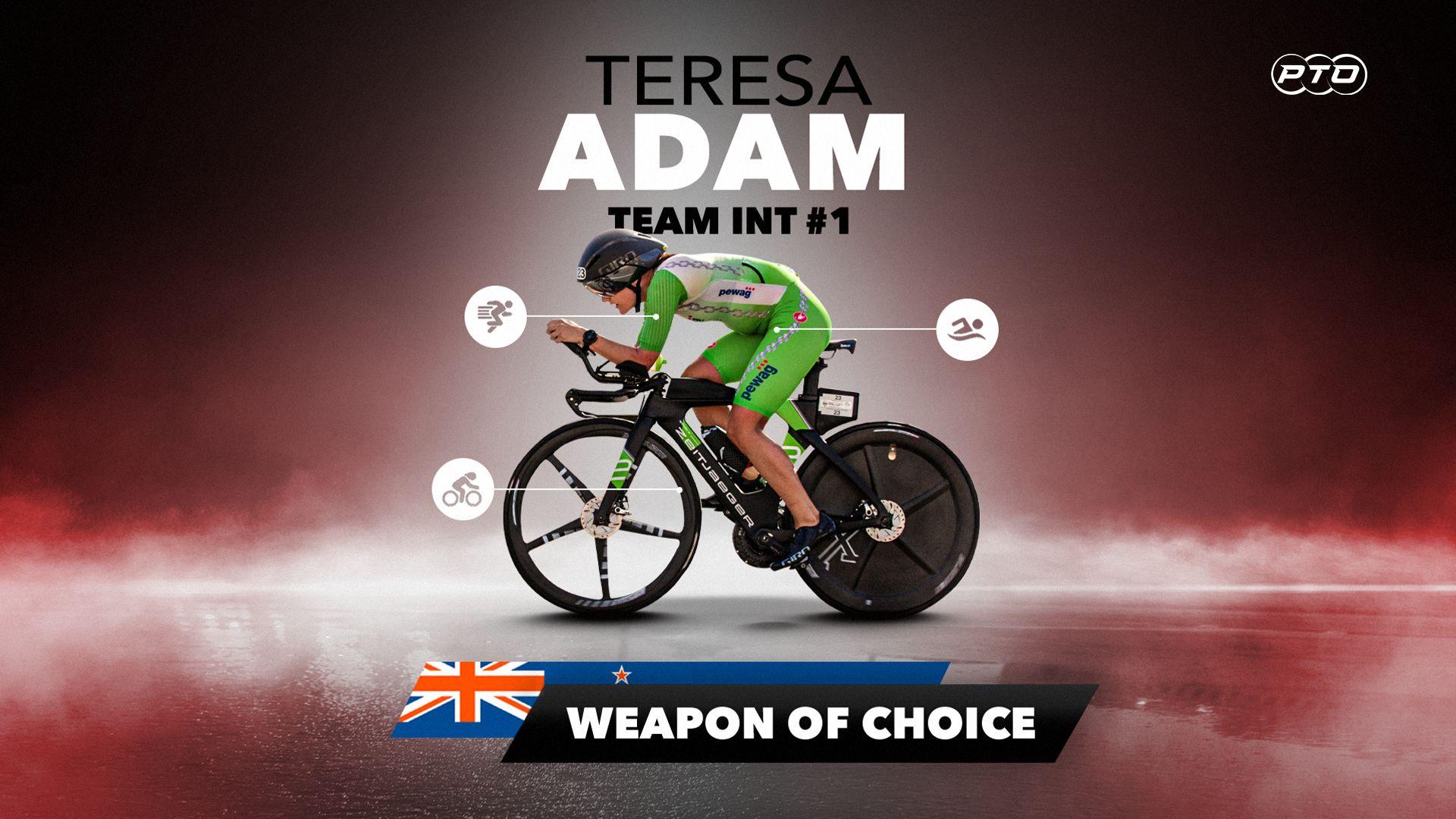 Weapon of Choice || Teresa Adam