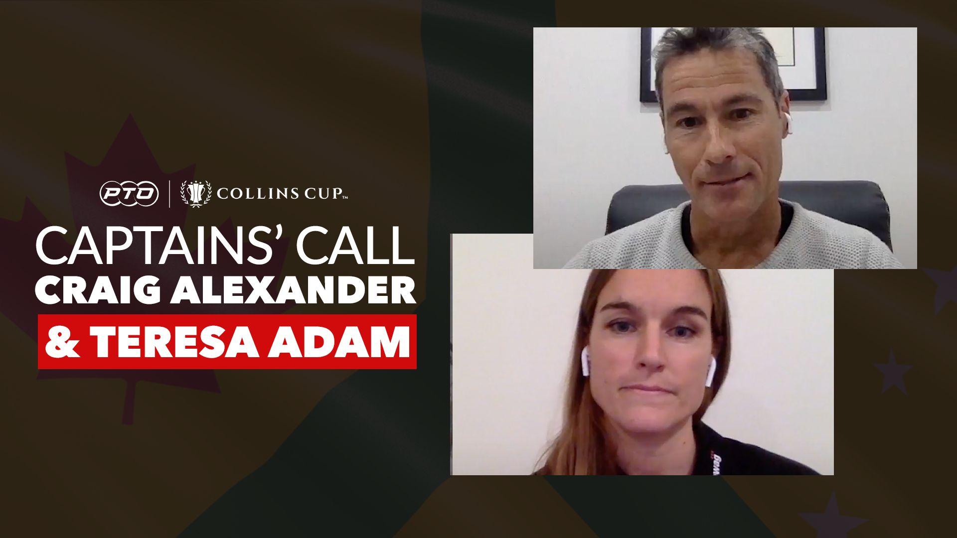 Captains' Call: Team Internationals - Craig 'Crowie' Alexander & Teresa Adam