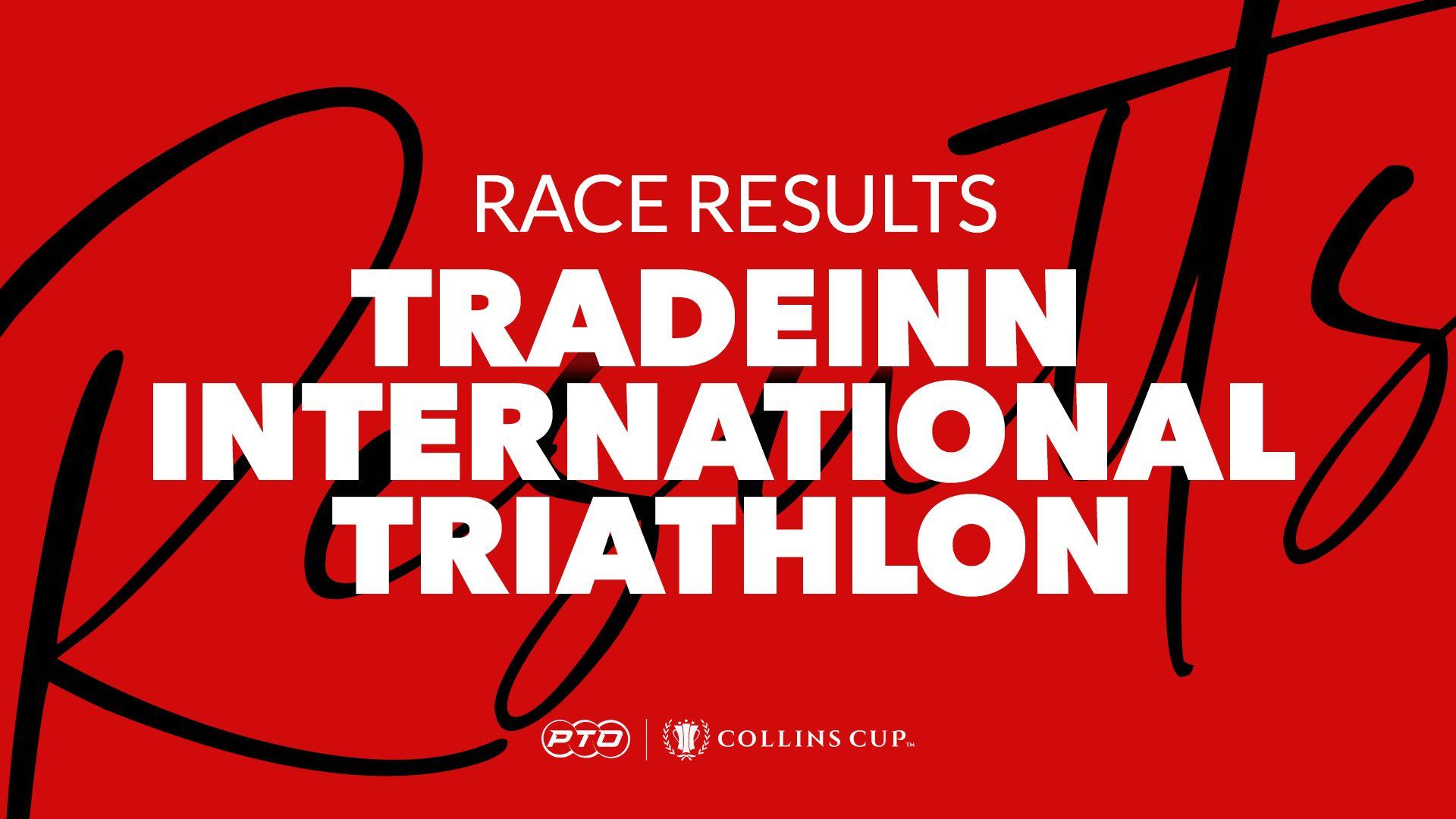 Race Results: TradeInn International Triathlon 2021