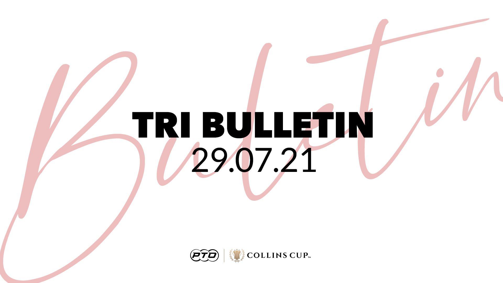 Tri Bulletin 29.07.21
